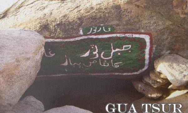 Gua Tsur dan Pengorbanan Abu Bakar Ash-Shidiq